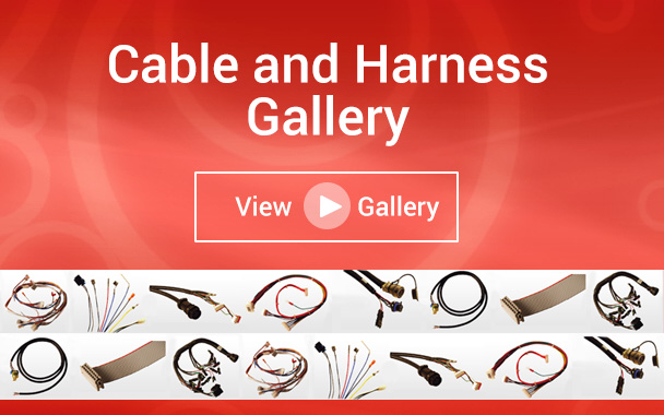 Cables and Harness Gallery from PSC Electronics
