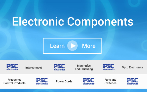 Electronic Components, Cables and Harnesses from PSC Electronics
