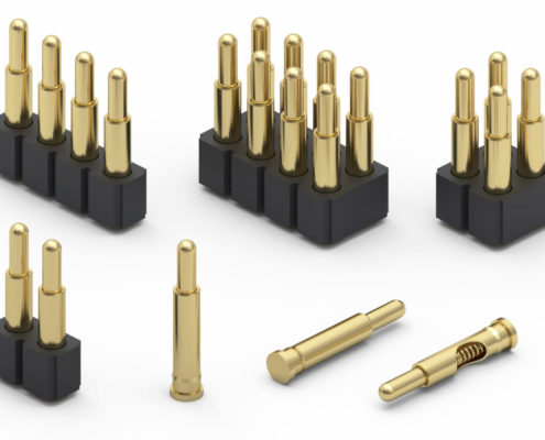 """Mill-Max Introduces 3 mm (.118"""") Maximum Stroke Spring-Loaded Pin"""