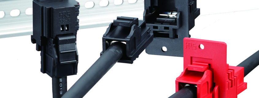 160 Amp In-line Power Connector From Hirose Simplifies Assembly