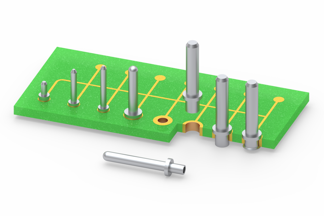 Mill-Max Offers Swage Mount PCB Pins for Interconnect Applications